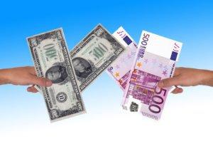 Conversión de divisas: euros a dólares