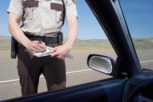 Multa de tráfico por superar el límite de velocidad